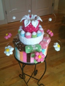 Diaper cake We bit of whimsy