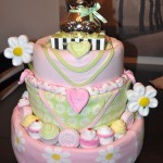 diaper cake baby shower flower