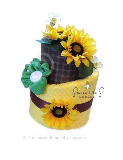 Topsy Turvy Diaper Cake Martha Stewart