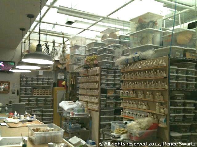 Martha Stewart's craft room