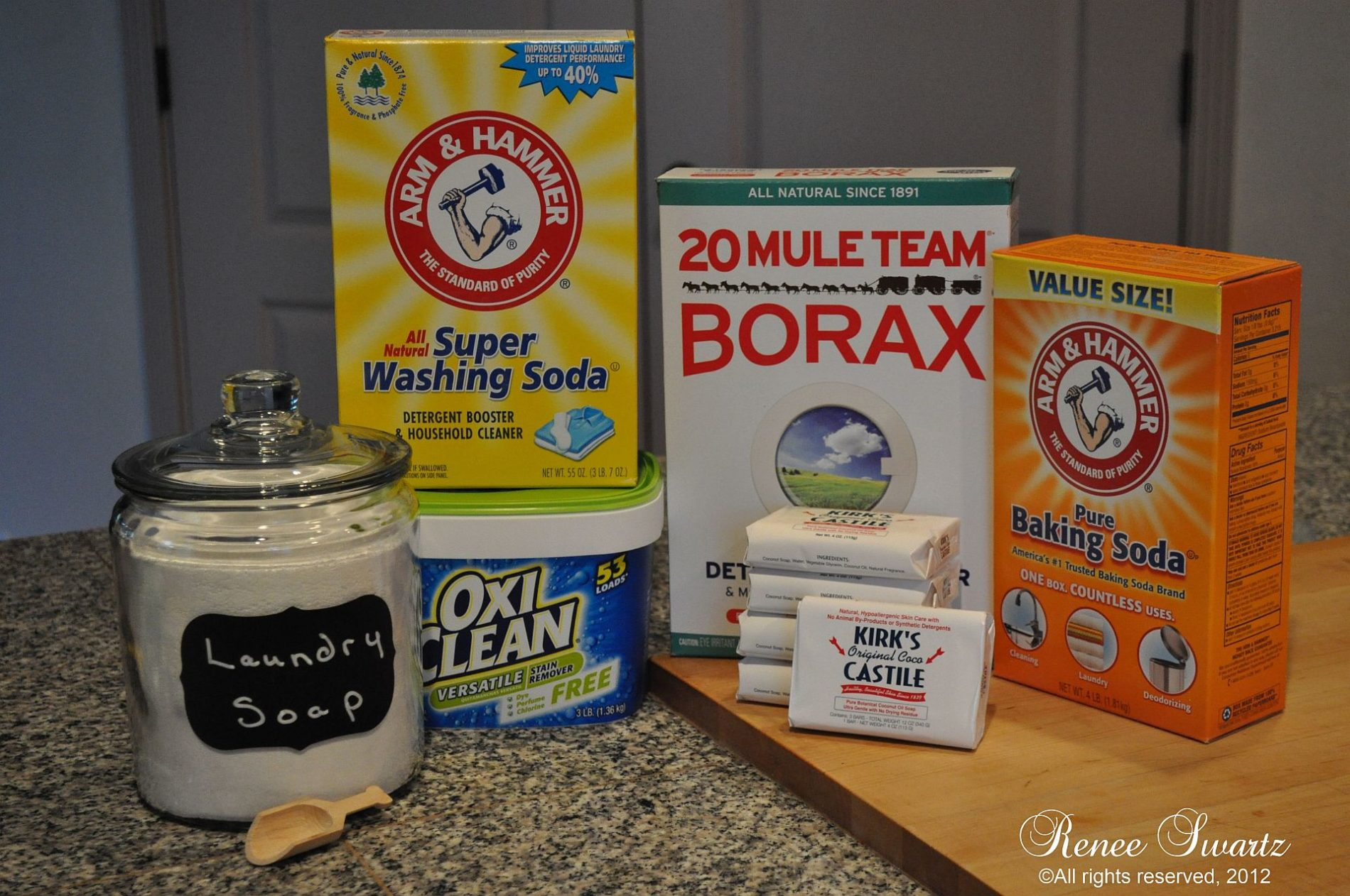 Kirk S Castile Soap Homemade Liquid Laundry Detergent