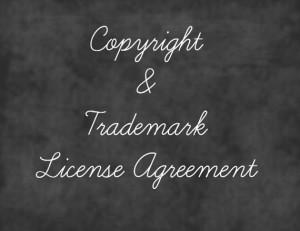 copyright agreement