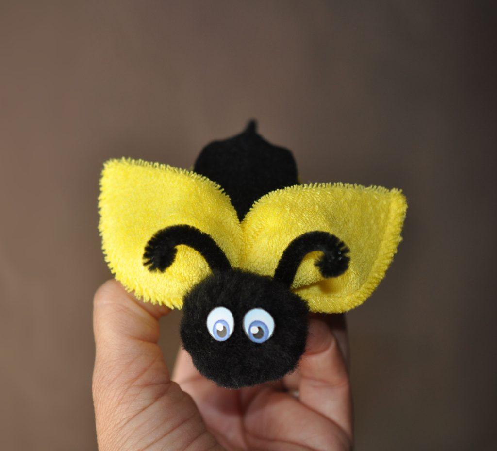 Washcloth Bumble Bee