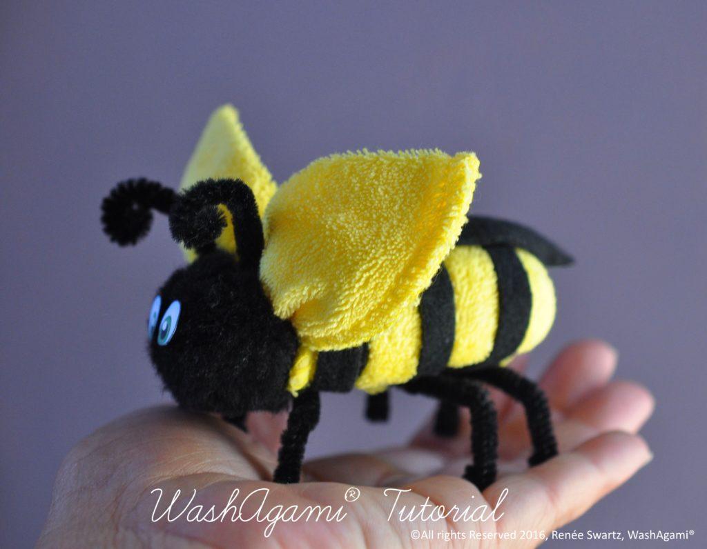 Washcloth bee Etsy